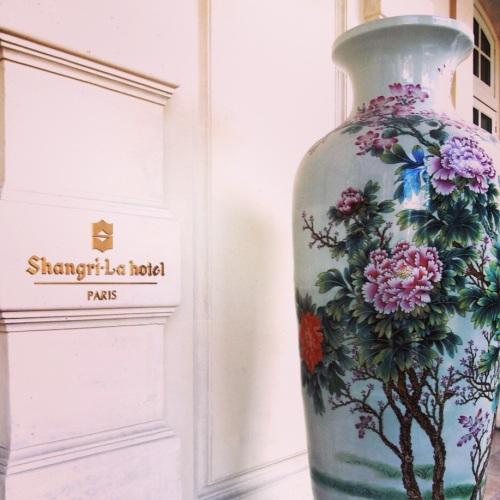 Vase Chinois au Shangri-La Hotel Paris