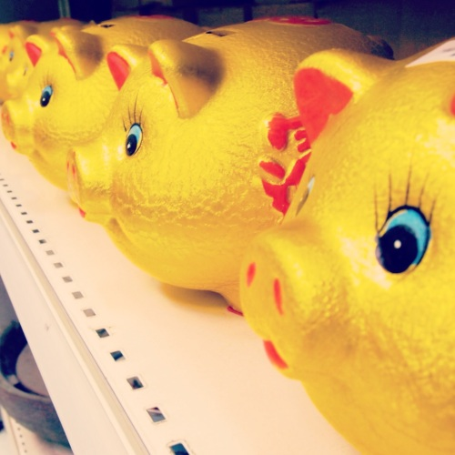 8-tirelires-cochons-chinois-dorés-chinese-golden-piggy-banks