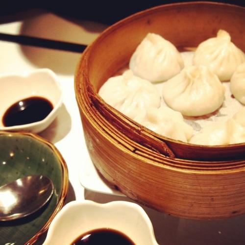 Xiao Long Bao en panier vapeur
