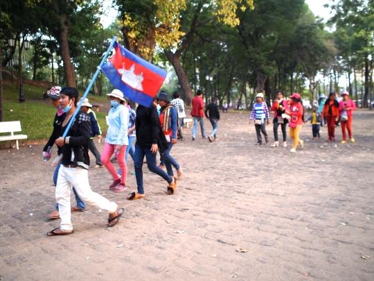 cambodge-wat-phnom-marche-prostestants