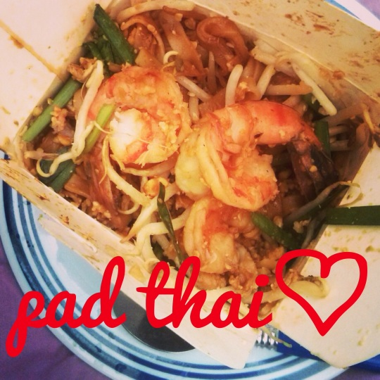 I heart pad thai