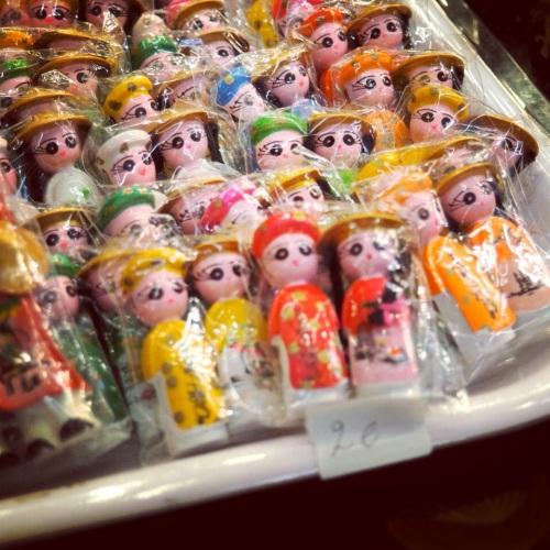 Les petites poupées