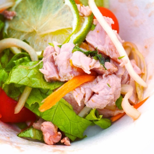 La Salade de Boeuf de Thaï La Route