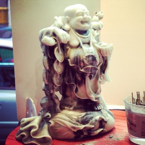 Le Bouddha Rieur aime le Ramen Burger