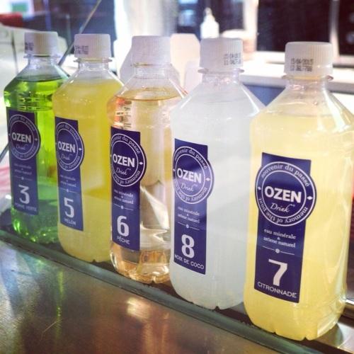 Ozen Drink, la Vitamin Water française