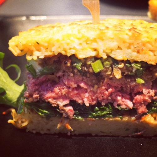 Ramen Burger de W for Wok
