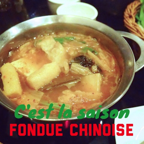 Une bonne fondue chinoise, ça réchauffe !