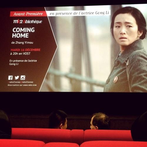 Coming Home, le nouveau film de Zhang Yimou avec Gong Li