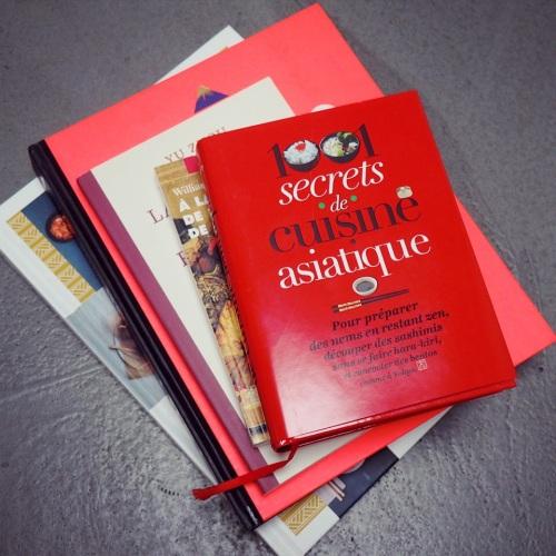 Des livres et de la cuisine asiatique chez la librairie Le Phénix