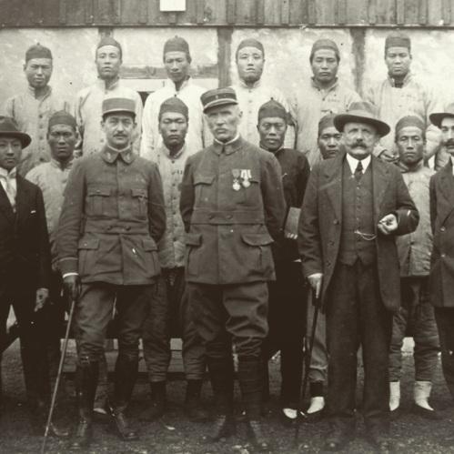 Travailleurs chinois pendant la Première Guerre Mondiale