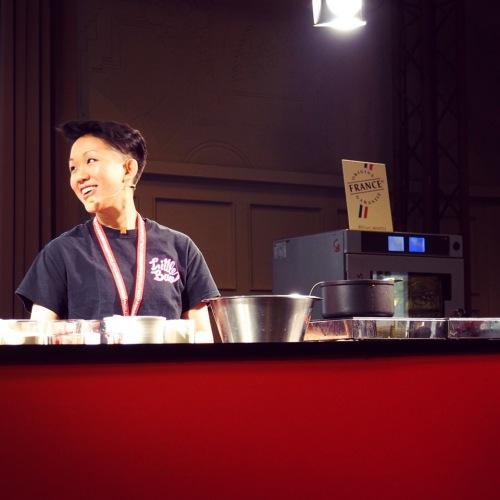 May Chow sur la Scène Street Food de l'Omnivore World Tour 2015