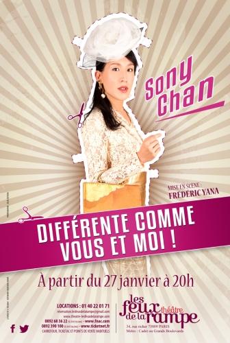 """Sony Chan dans """"Différente Comme Vous et Moi"""""""